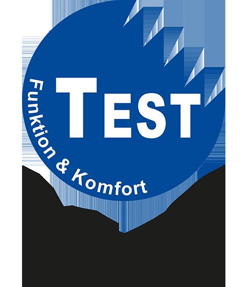 KWF-Test Funktion und Komfort